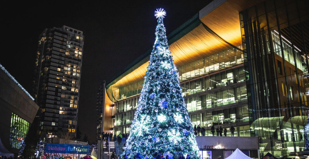 This virtual Christmas festival in Metro Vancouver will feature a 60-foot-tall tree