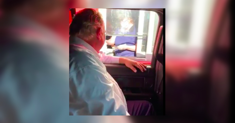 Doug Ford filmed himself at a McDonald's drive-thru (VIDEO)