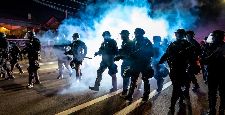 Portland gathering declared a riot after multiple arrests