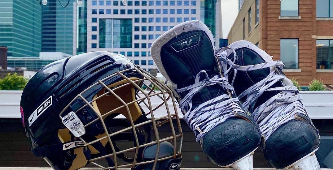 Downtown Toronto's rooftop skating rink is reopening this weekend