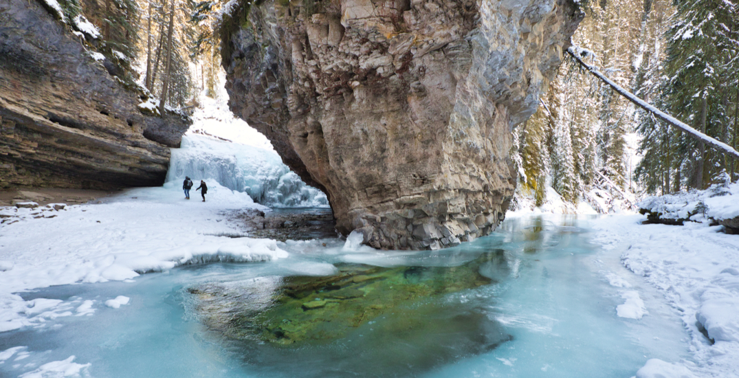 Awesome Alberta: Warm up to winter at Johnston Canyon