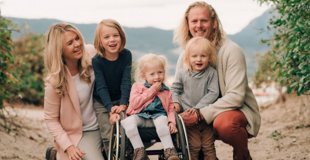 Vancouver family fundraising for daughter's electric wheelchair lift