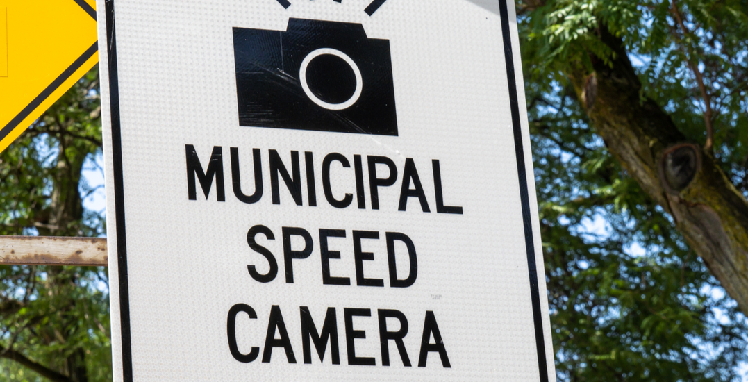 Toronto enforcement issued over 9,700 speeding tickets in one month
