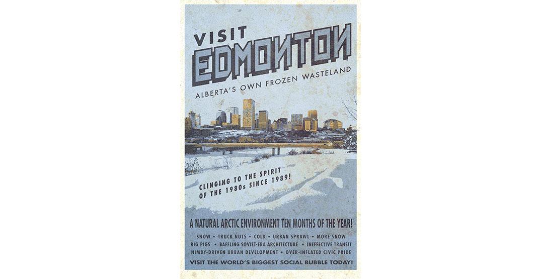 frozen wasteland edmonton poster