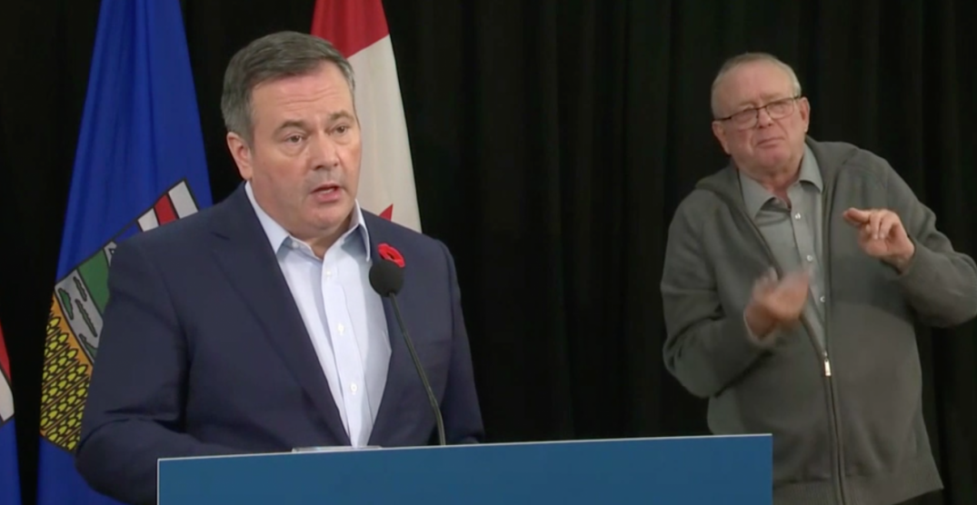 Albertans who live alone can visit one other household this holiday season: Kenney