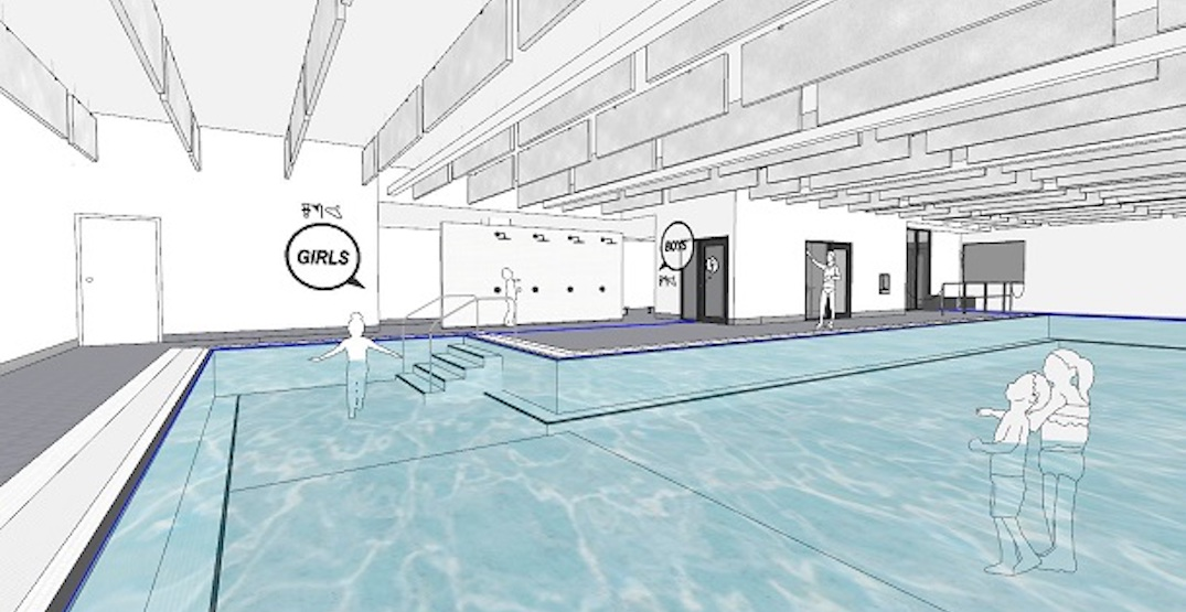 New learn-how-to-swim pool for kids being built at Park Royal mall
