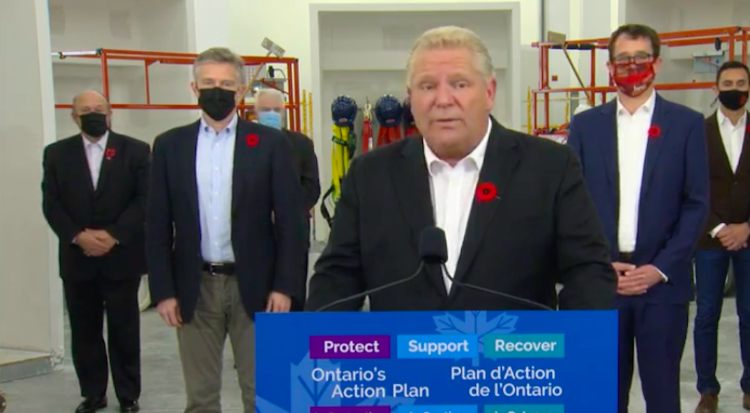 Ford says Toronto will move into red zone this weekend as cases surge