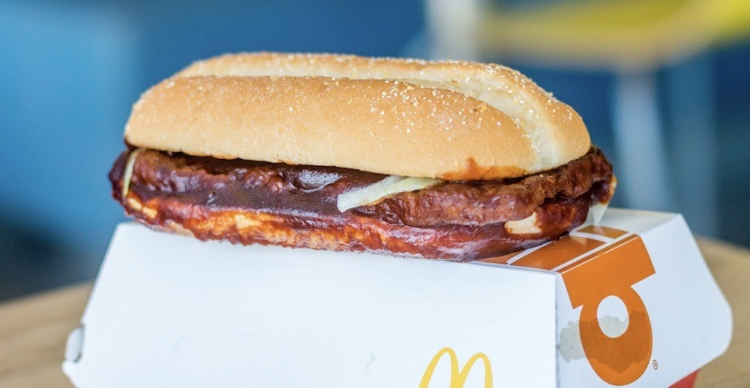 Canadians are calling for the return of this legendary McDonald's dish
