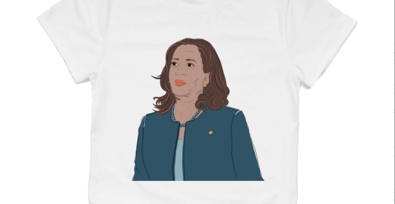 Buyers scoop up Canadian designer's Kamala Harris T-shirt