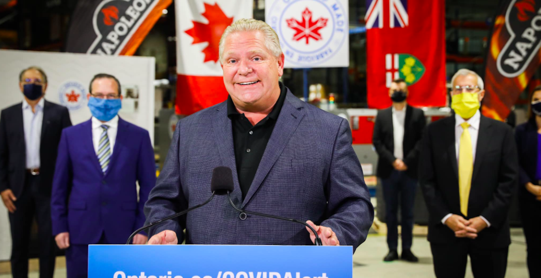 Ford to make announcement in North York on Tuesday afternoon