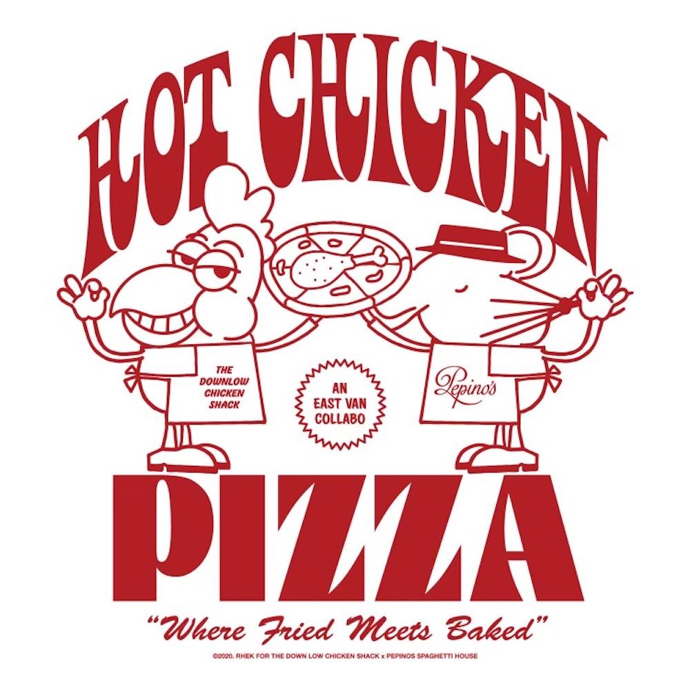 DL Chicken Shack Pepino's Pizza
