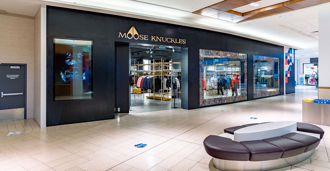 Outerwear store Moose Knuckles just opened in Calgary's Chinook Centre (PHOTOS)