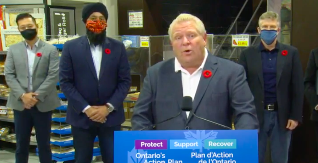 """Ford says he """"can't rule out anything"""" when it comes to another Ontario lockdown"""
