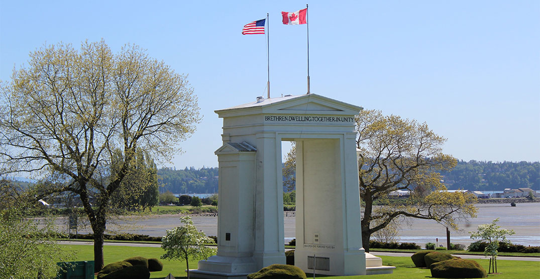 Neighbours disturbed by continuing cross-border meetups at Peace Arch Park
