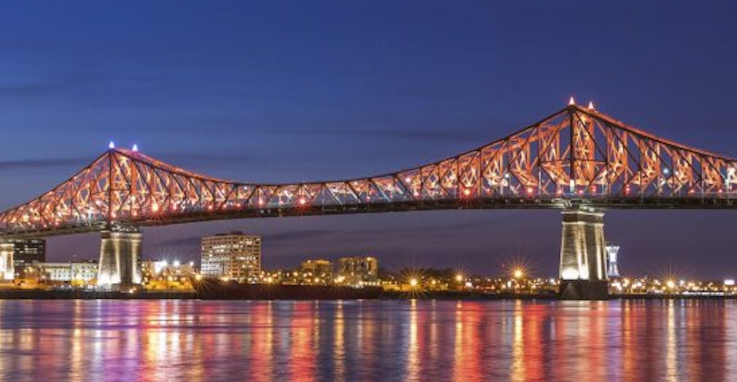 Two Montreal bridges will be lit up red tonight in honour of Remembrance Day