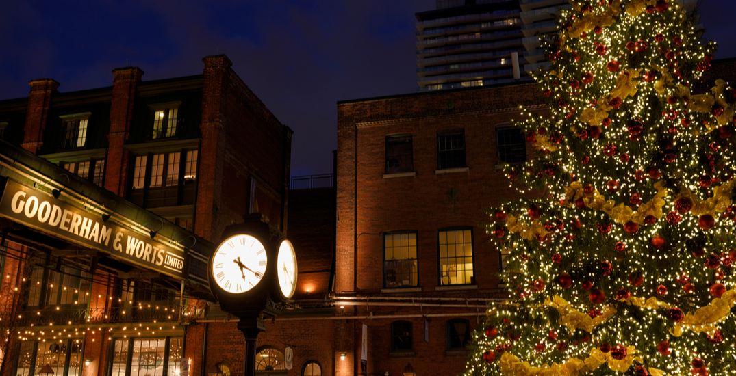There's a new Winter Village coming to the Distillery District this month