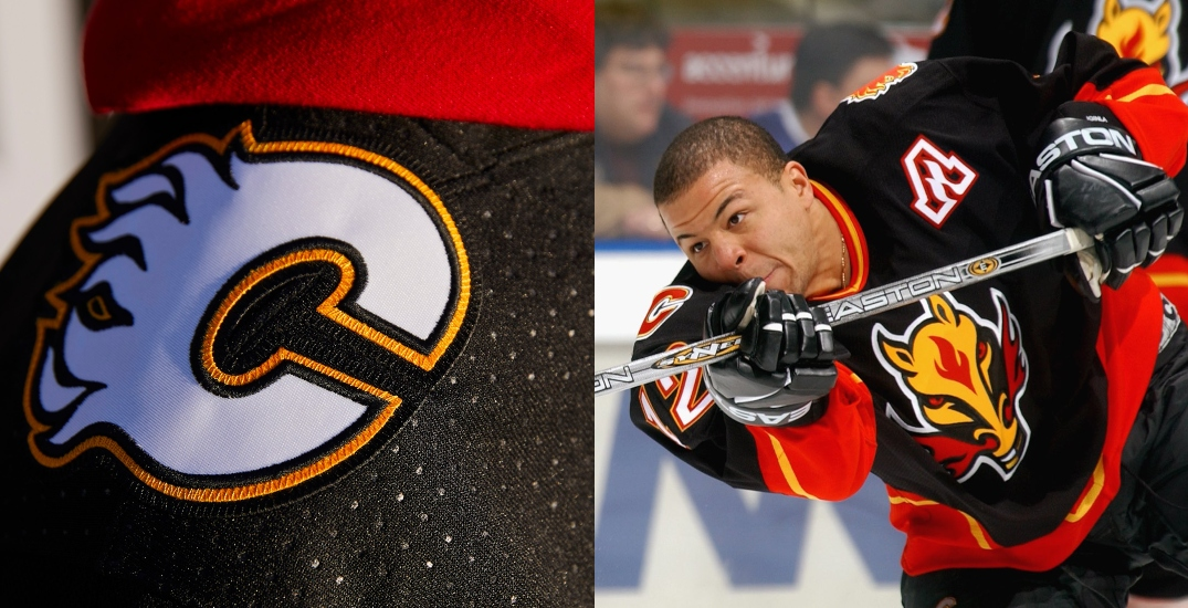 Calgary Flames flaming horse head jersey might be making a comeback (PHOTOS)