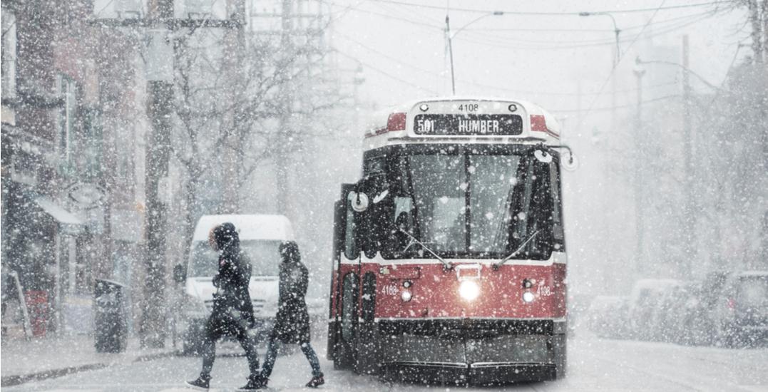 "Flurries, ""bursts of heavier snow"" expected to hit Toronto next week"