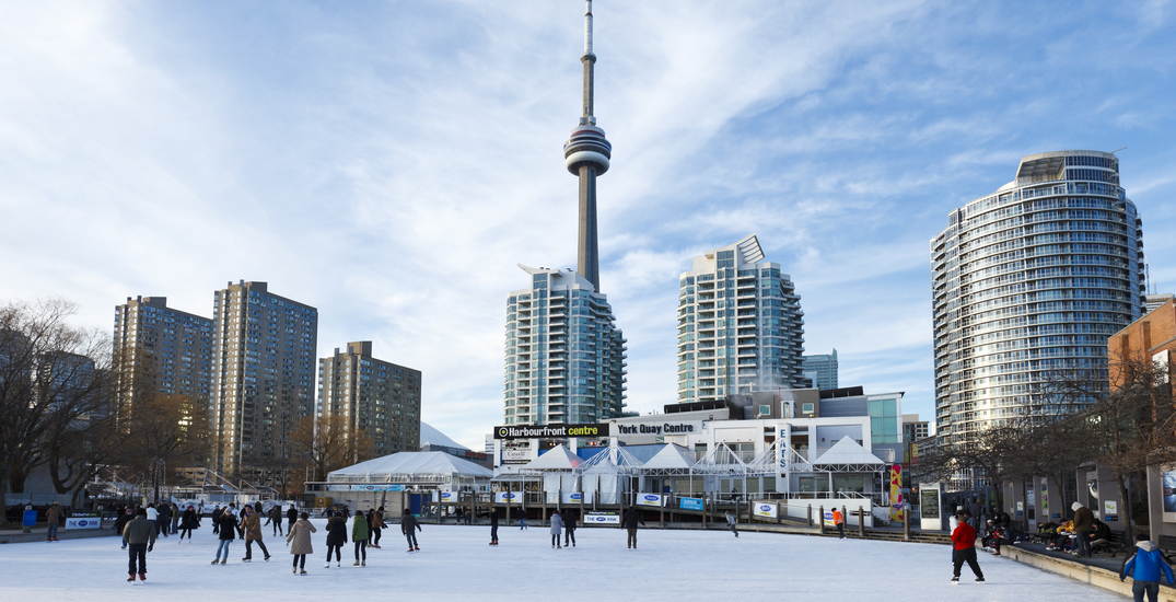 Toronto's popular waterfront skating rink is not opening this winter