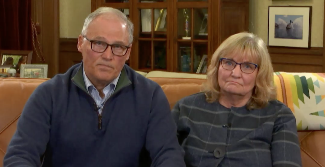 """""""Please do not have Thanksgiving gatherings"""": Gov. Jay Inslee"""
