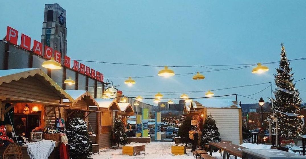 Two Montreal markets are turning into Christmas villages this winter