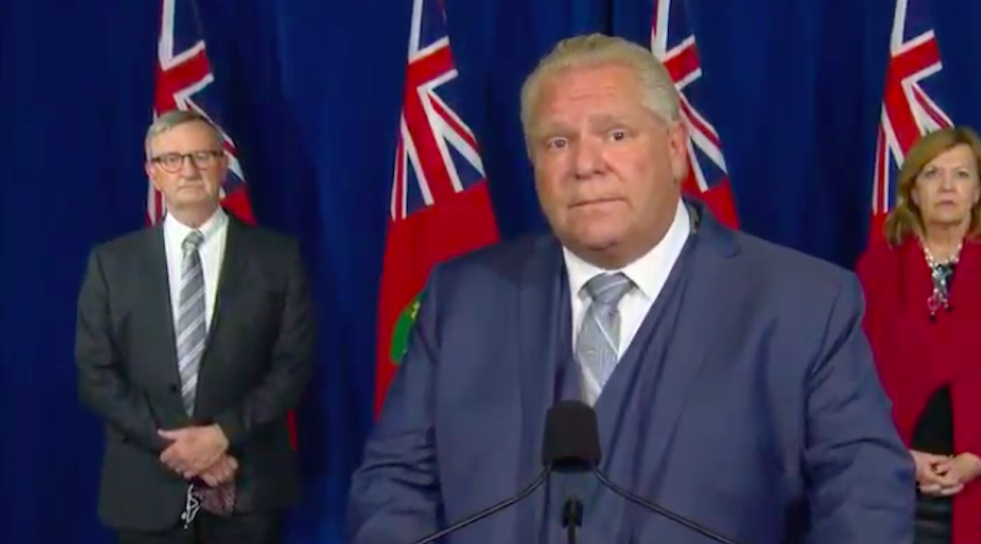 Ford to make announcement as Ontario expected to enter province-wide lockdown