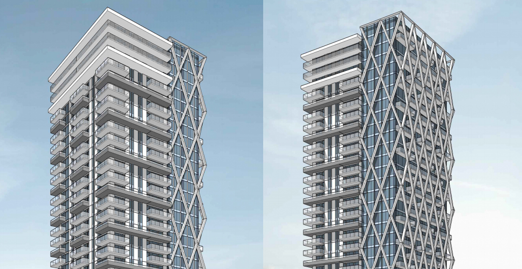 New condo tower with Vancouver Public Library proposed at Joyce-Collingwood Station