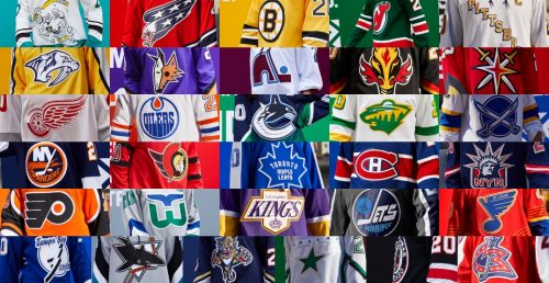 All 31 Nhl Teams Unveil New Jerseys They Ll Wear Next Season Photos Offside
