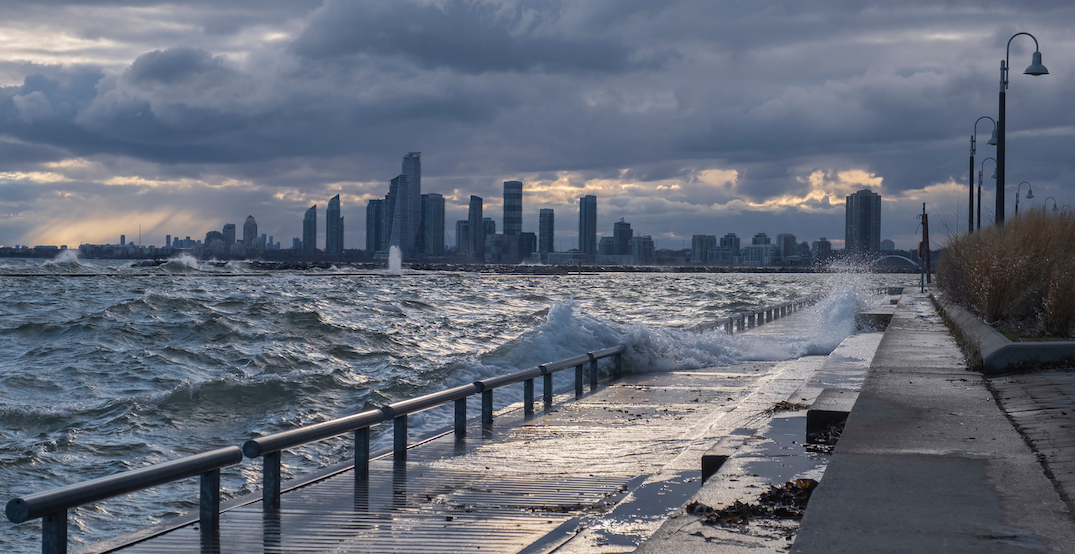 Marine rescue called to help surfer at Cherry Beach during Sunday's storm