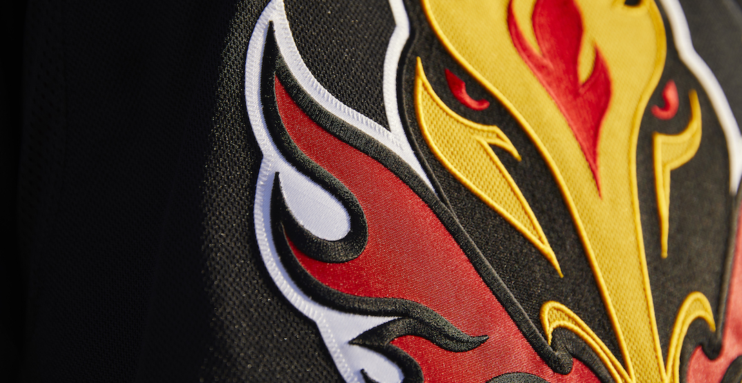 "Flames unveil new ""reverse retro"" jersey they'll wear next season (PHOTOS)"