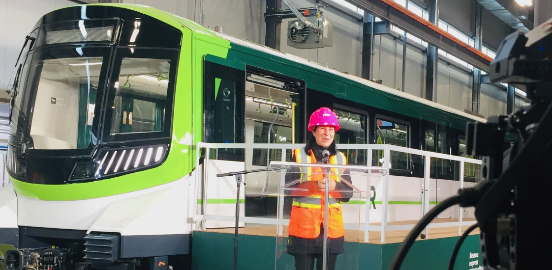 Montreal unveils first look of new REM light-rail trains