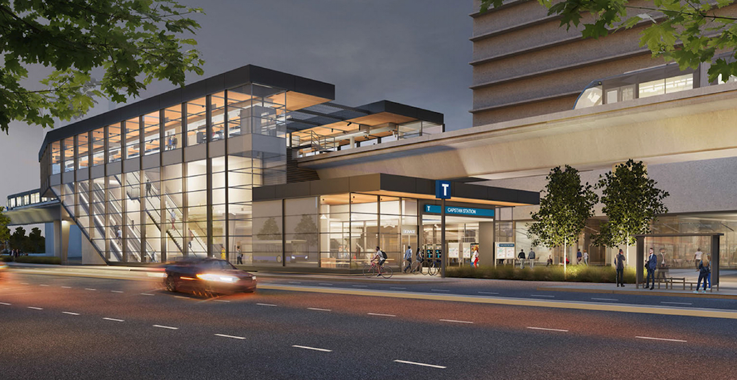 Construction on SkyTrain's new Capstan Station to begin in August
