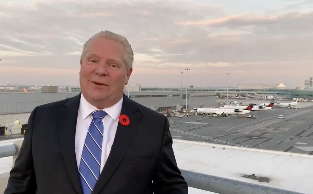 Ford asks Ontario residents not to travel to other provinces amid COVID-19 spike