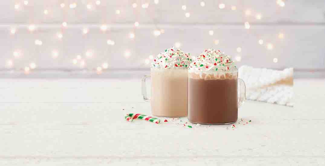 Tim Hortons' holiday menu launches across Canada today