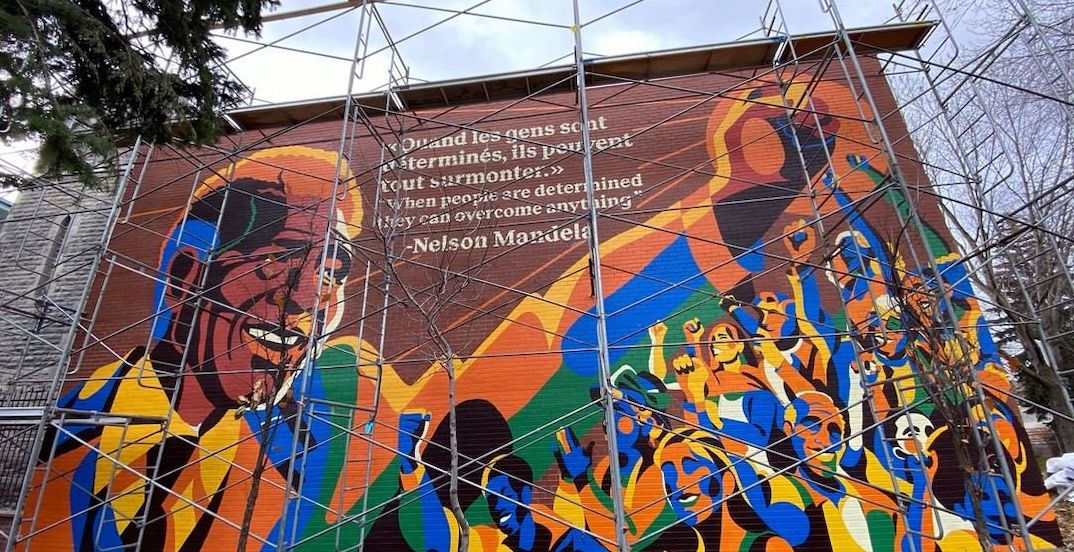 New Montreal mural honours Nelson Mandela (PHOTOS)