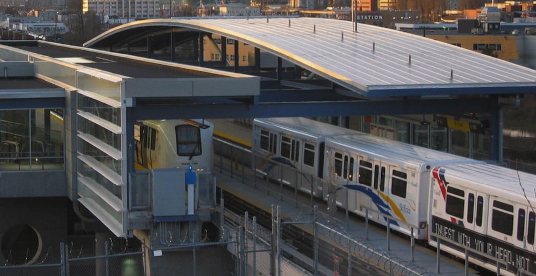 vcc clark station skytrain millennium line