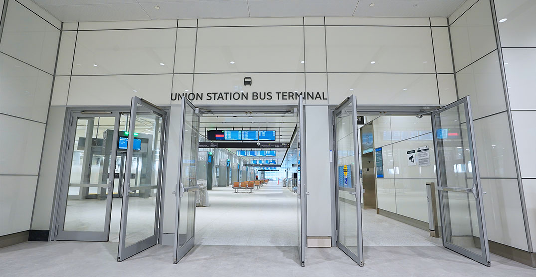 New GO bus terminal at Union Station set to open in early December