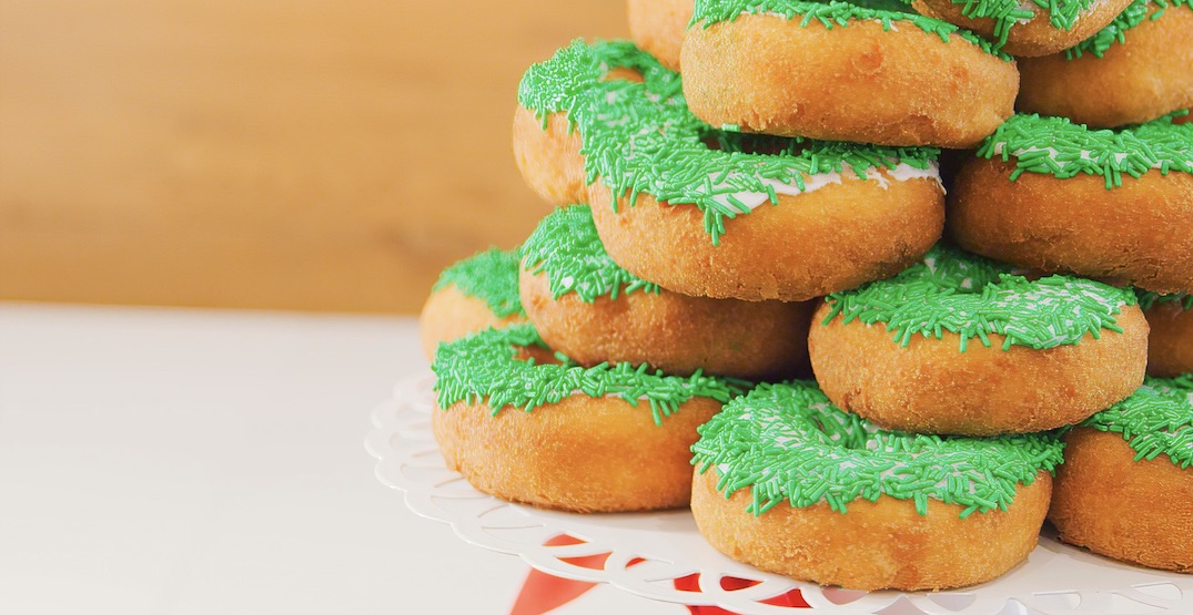 The Lee's Donuts Christmas Tree is the only one you need this season