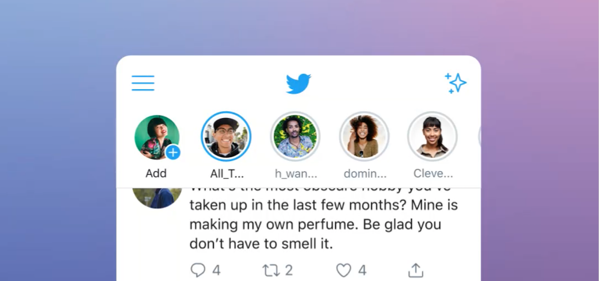 "Twitter rolls out its version of ""stories"" with ""Fleets"""