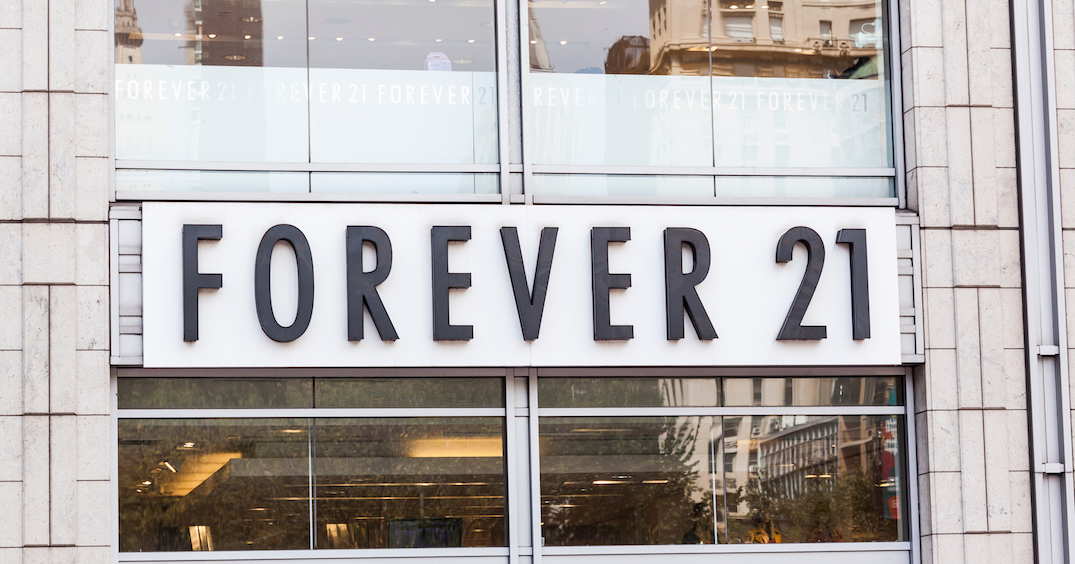 Forever 21 relaunches in Canada with new website