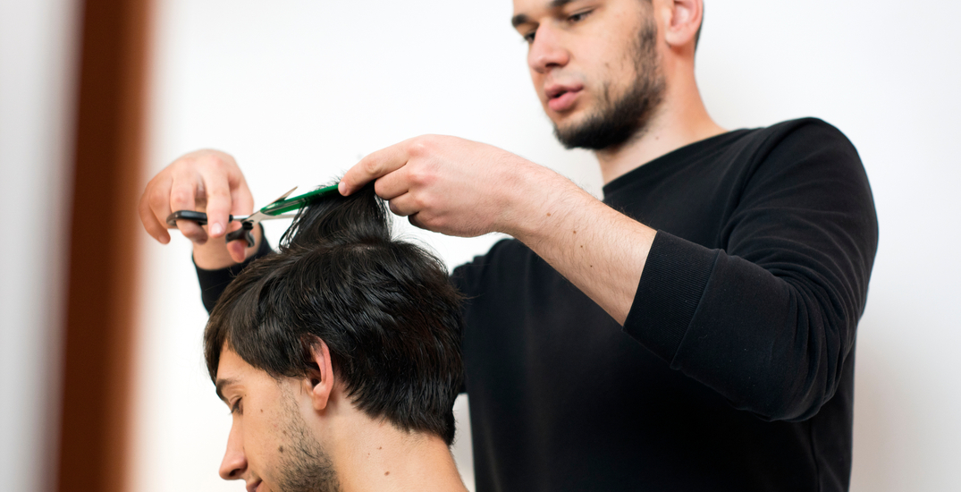 Haircuts for humanity: Stylists provide free cuts to Surrey's most vulnerable