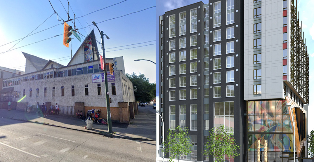 105 units of social housing proposed to replace church in Vancouver's Chinatown