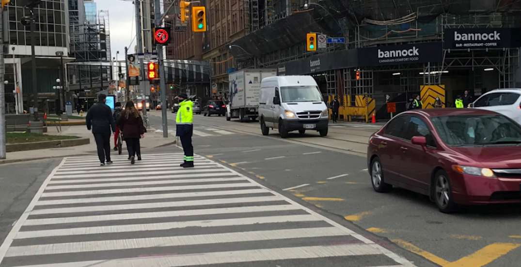 Toronto deploys traffic agents to manage busy downtown intersections