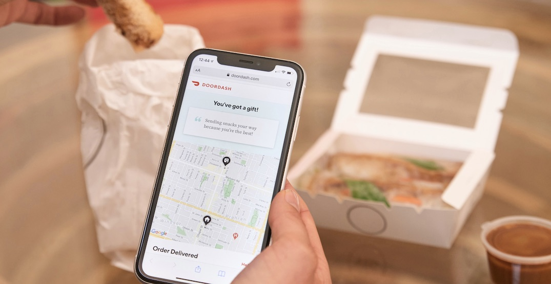 DoorDash launches new holiday gifting feature across Canada