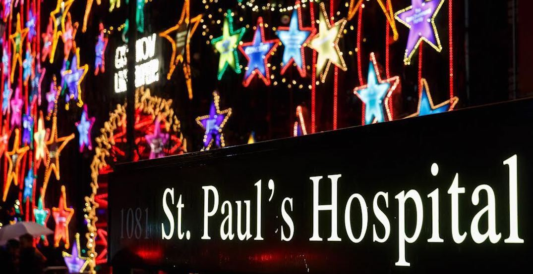 Lights of Hope returns to St. Paul's Hospital next month