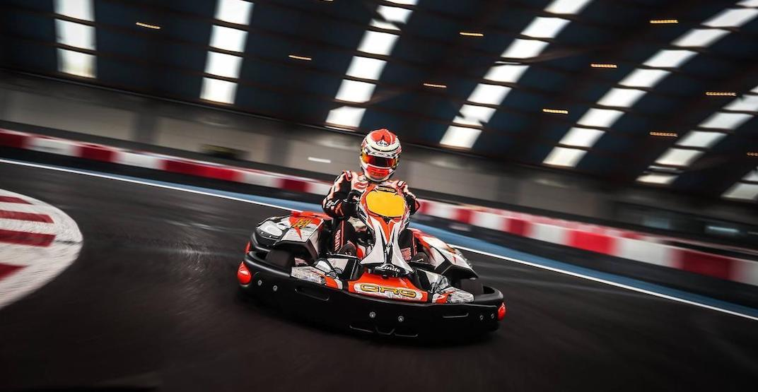 New amusement centre and go-karting track is opening outside of Montreal