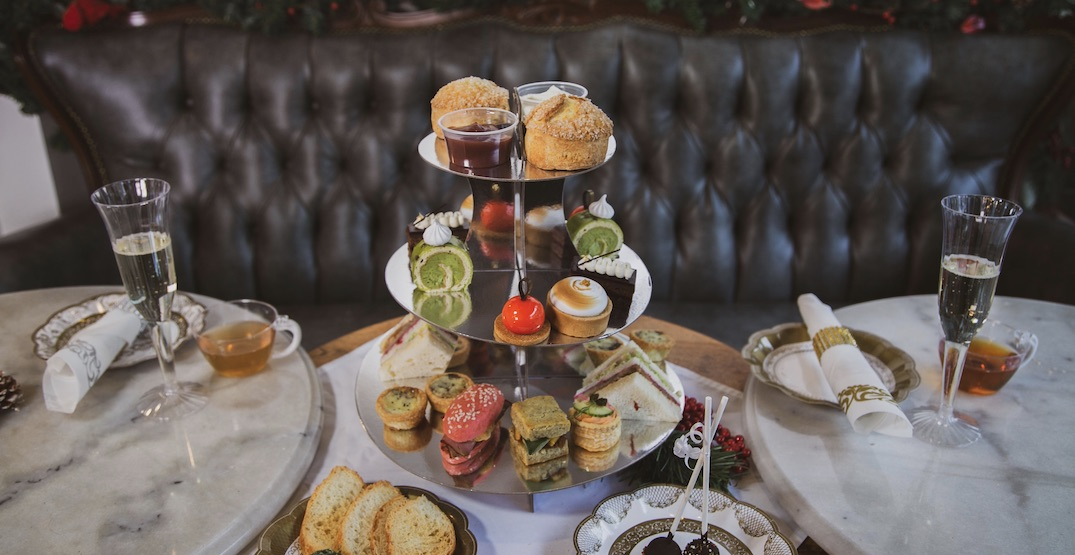 3 festive holiday afternoon teas to try in Vancouver this season