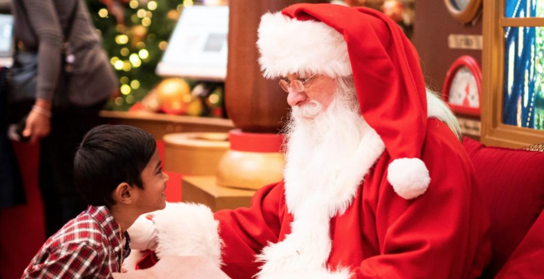 Santa is coming to Banff for a visit this holiday season