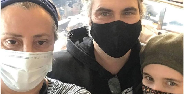 Joaquin Phoenix and Rooney Mara spotted at Toronto restaurant