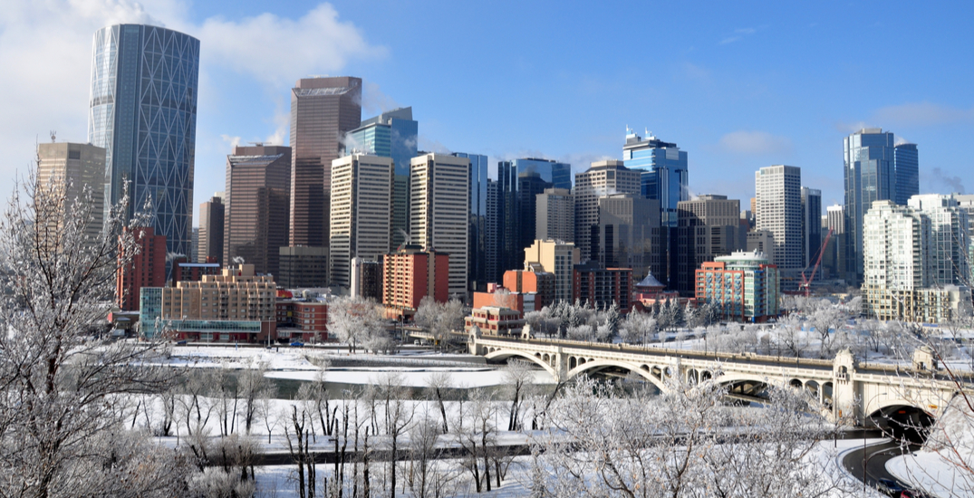 Clear and sunny skies on their way to Calgary this weekend